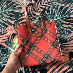 DOONEY & BOURKE Plaid Tote Bag